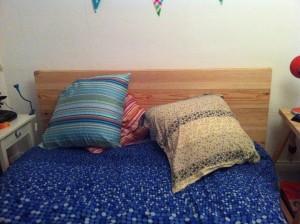 Une tête de lit fabriquée pour 15 €